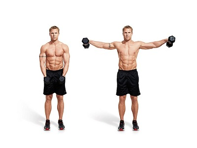 Image result for dumbbell lateral raise