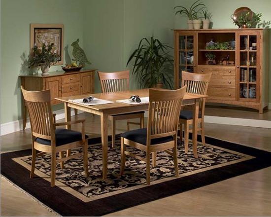 대표적인 11가지 원목가구 테이블/식탁 세트 스타일