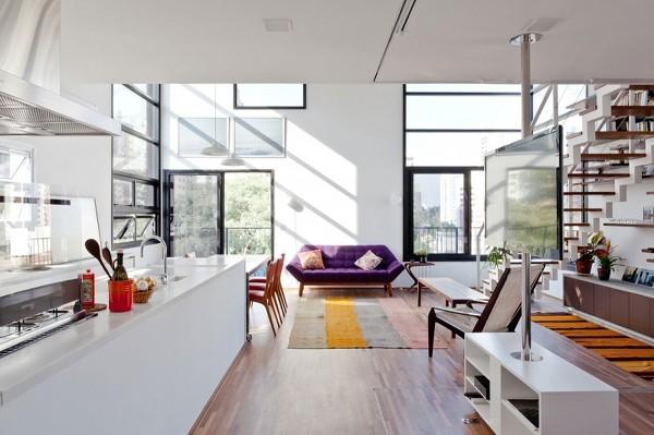 브라질 복층 아파트 인테리어