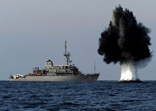 US Sends Four Anti Mine Ships To Strait of Hormuz