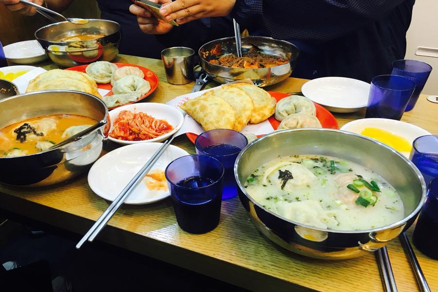 일산맛집 : 일산맛집은 웨스턴돔 북촌손만두♡