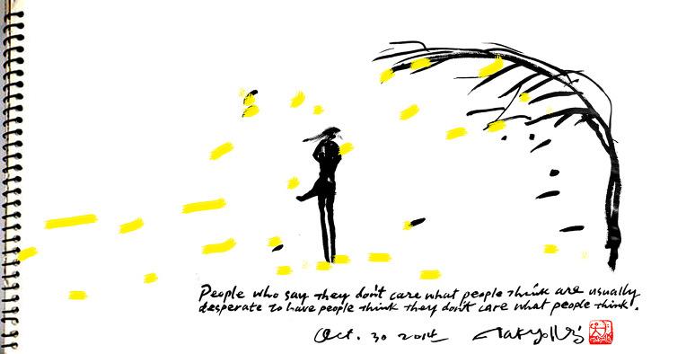 역경은 강풍과 같다. 그것은 찢기어지지 않는 것만 남기고 모든 것을 우리로부터 앗아간다. 이로써 우리는 우리의 진정한 자신을 보게 되는 것이다.
