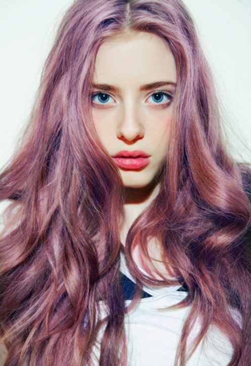 2014 여름 헤어컬러 추천 오키드 컬러 염색머리