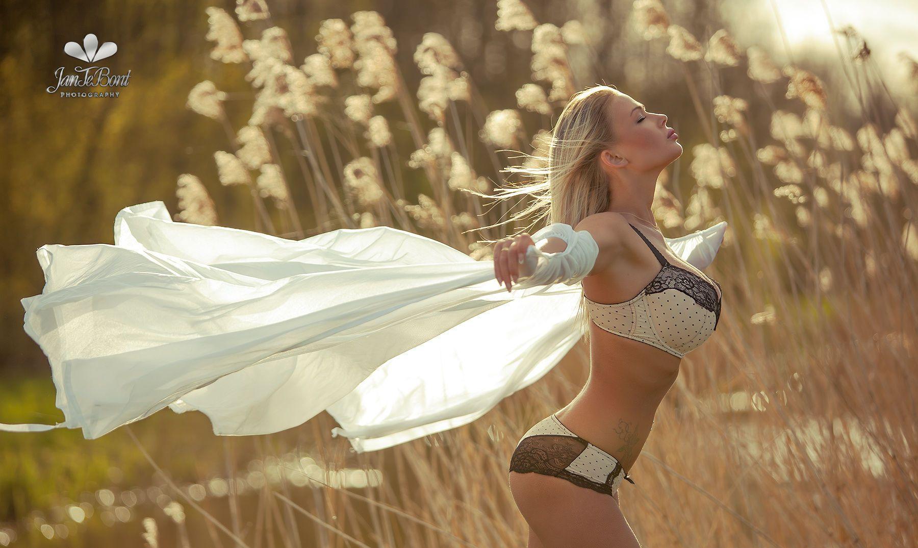 hot glamour in lingerie