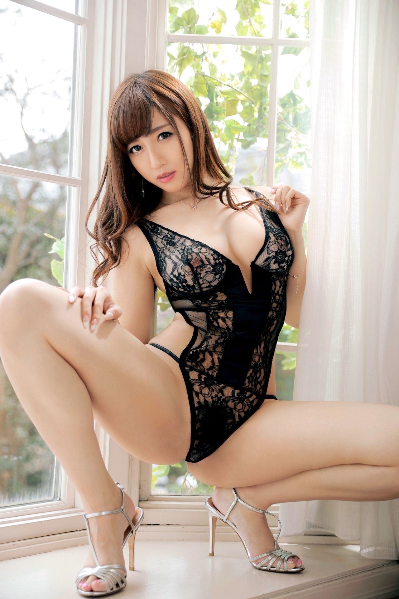 hot Japanese in sexy pose